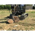 conical log splitter