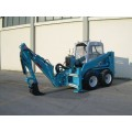 hydraulic backhoe